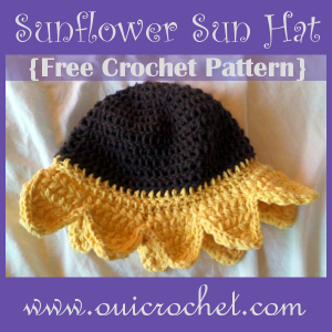 Sunflower Sun Hat