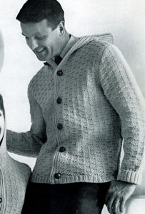 Cable Knit Sweater Mens