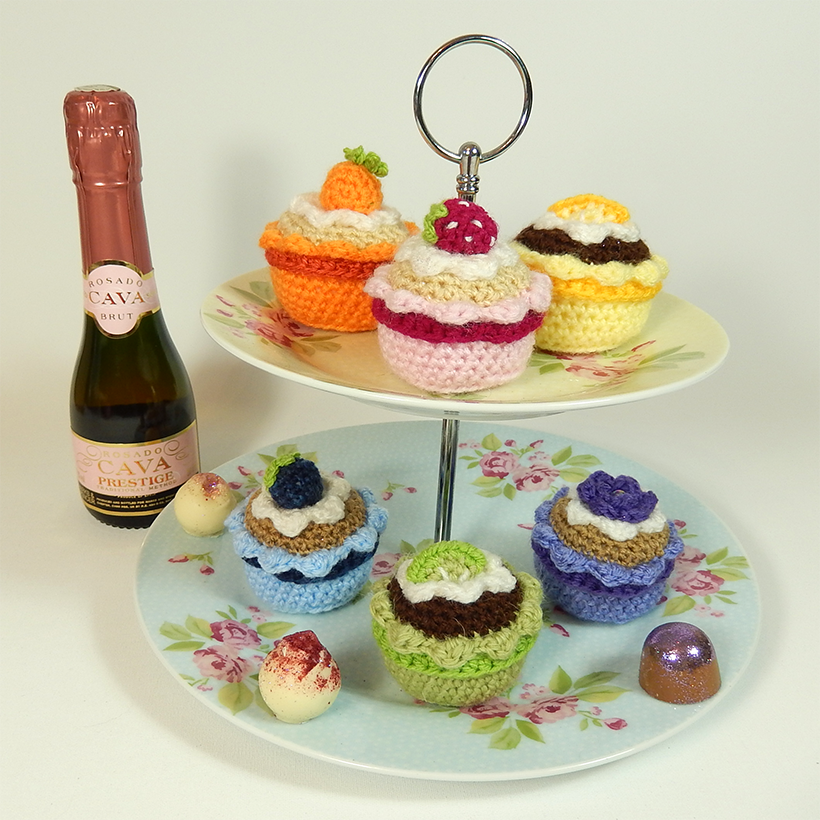 Everything Cupcakes To Crochet Free Patterns Grandmothers