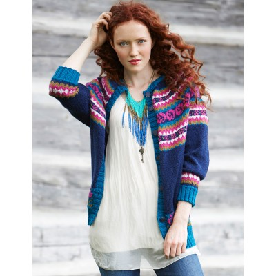 01acb6e19fc5d More Cardigans and Jackets to Knit for Fall – free patterns from ...