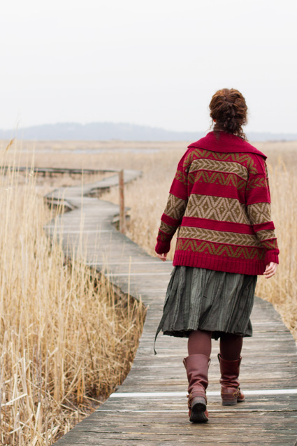 Cozy Cardigans and Jackets to Knit for Fall – free patterns from Knitty