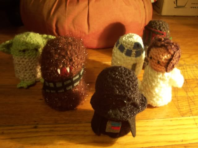 Free Crochet Pattern Star Wars : More Stars Wars Patterns to Crochet ? 23 free patterns ...