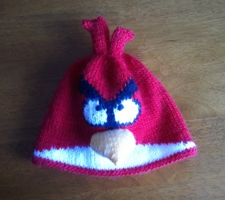 Parrot Knitting Pattern Free : Angry Birds   14 free patterns to knit   Grandmothers ...