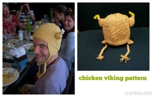 chicken-viking-pattern