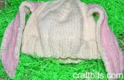 Knit Bunny Hat Pattern : Halloween Hats (great for costumes!)   free patterns to Knit   Grandmother