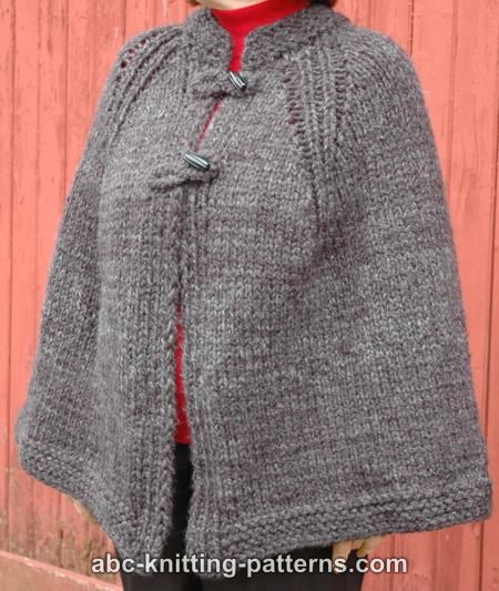 Free Knitted Capelet Patterns : Lovely Capes to Knit   21 free patterns   Grandmothers Pattern Book