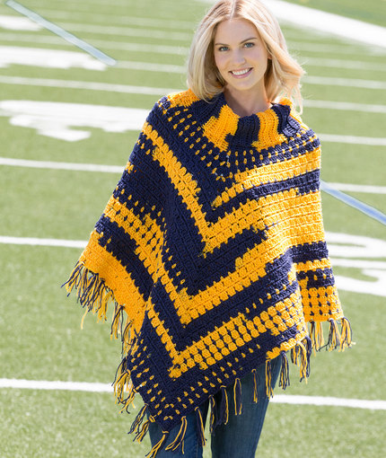 Free Crochet Patterns For Cowl Neck Poncho : The Best Ponchos to Crochet for Fall ? 30 free patterns ...
