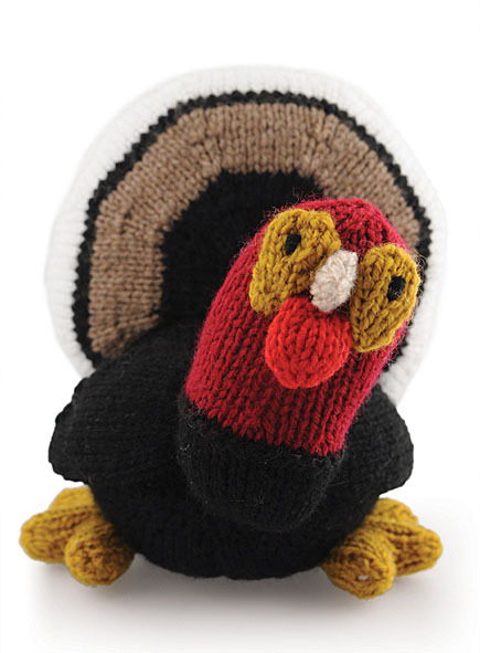 Free Knitting Pattern Turkey Dishcloth : Thanksgiving Turkeys to Knit   15 free patterns   Grandmothers Pattern Book