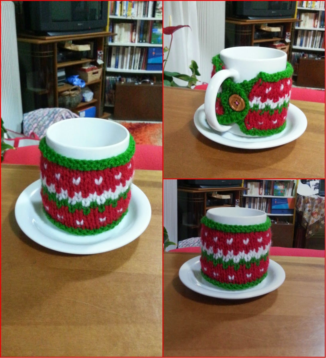 Christmas in Your Kitchen – Tea Cozies / Cup Cozies to Knit – 21 ...