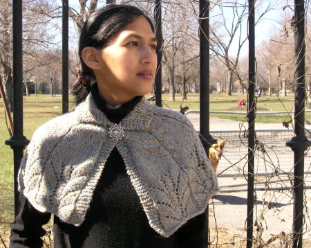 More Capes To Knit 13 Free Patterns Grandmothers Pattern Book