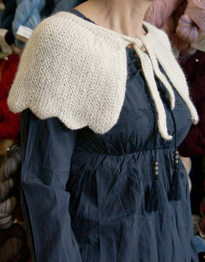 Knitting Patterns For Capelets Free : More Capes to Knit   13 free patterns   Grandmothers Pattern Book