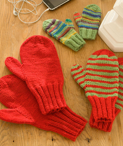 All The Best Kids Mittens To Knit 28 Free Patterns Grandmothers