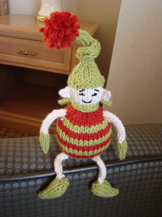 Knitting Pattern For Elf On The Shelf : Knit an Elf   10 free patterns   Grandmothers Pattern Book