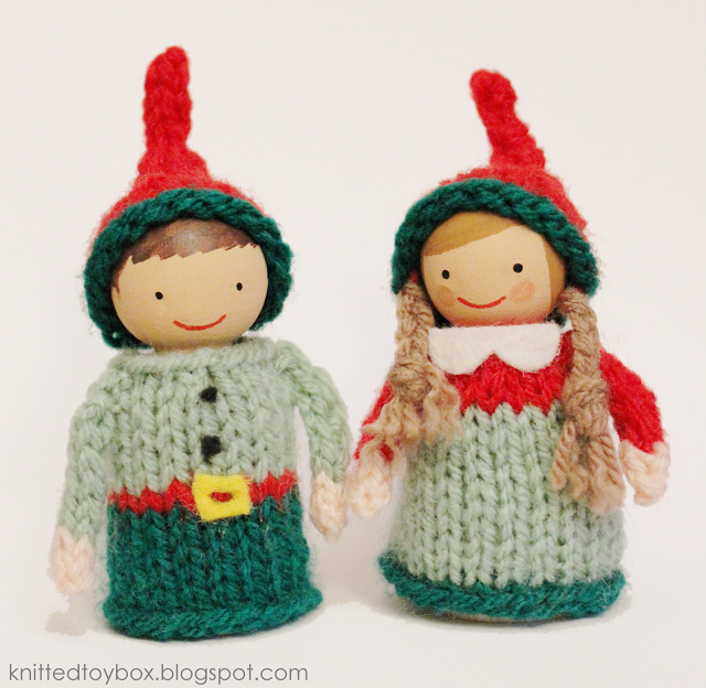 Baby Elf Knitting Pattern : Knit an Elf   10 free patterns   Grandmothers Pattern Book