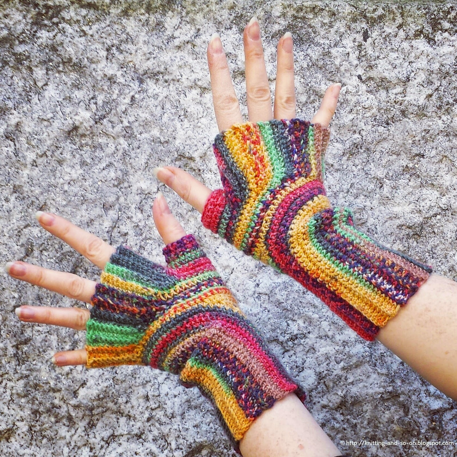 More Fingerless Mitts and Handwarmers to Crochet – 23 free patterns ...