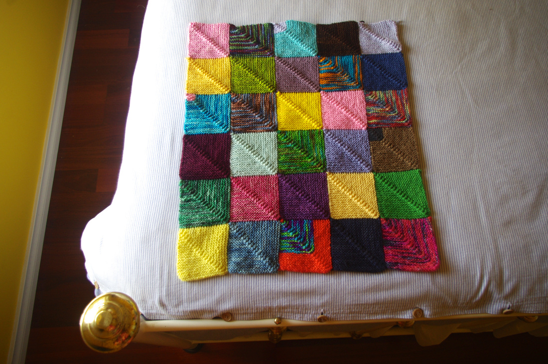 Knit A Quilt 32 Free Patterns Grandmothers Pattern Book