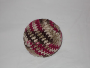 Crochet Ball Cover 1