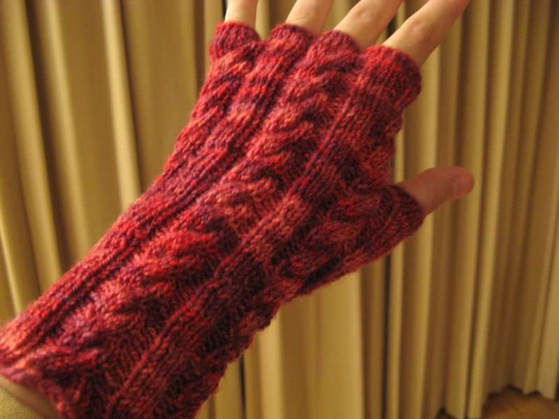 More Fingerless Mitts And Handwarmers To Knit 25 Free Patterns