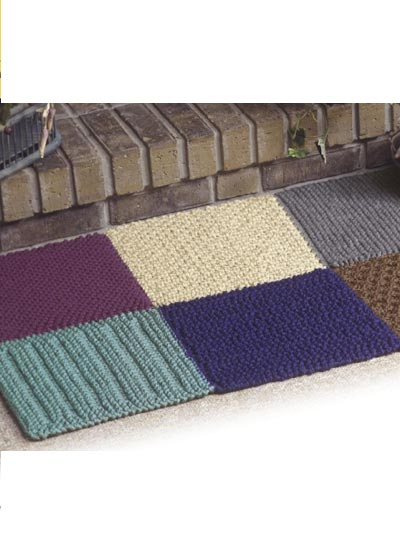 2 Quick To Knit Octagon Rug