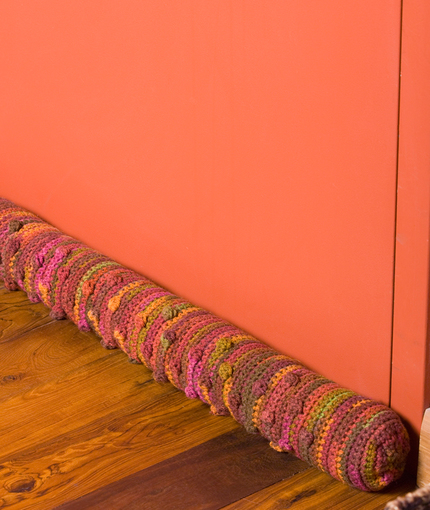 Crochet Draft Stoppers Draught Excluders 7 Free Patterns