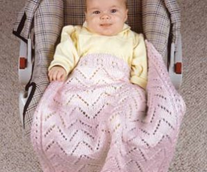 Comfy Car Seat Covers to Knit for Baby – 6 free patterns