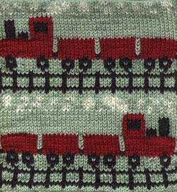 Train Knitting Pattern : Knit a Train   8 free patterns   Grandmothers Pattern Book