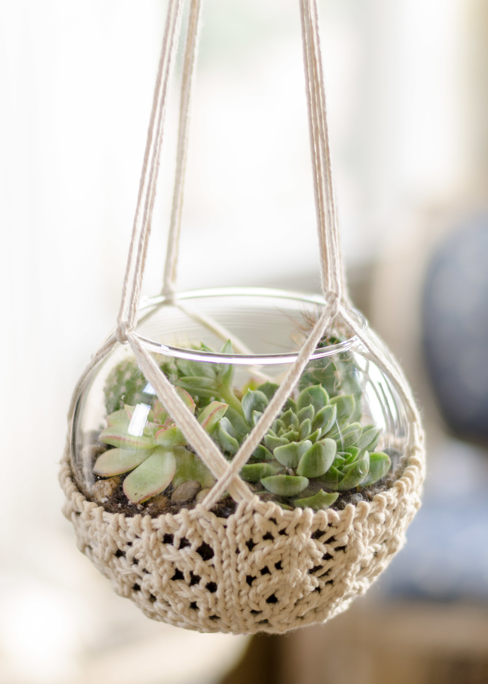 Knit a Slipcover for Your Potted Plants – 12 free patterns ...