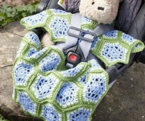 Comfy Car Seat Covers to Crochet for Babies – 10 free patterns