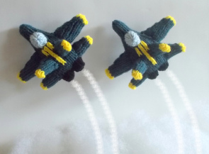 Knit An Airplane Helicopter Rocket Ship 13 Free