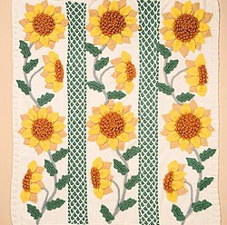 Flower Afghans, Baby Blankets and Bedspreads to Knit for Spring – 16 free patterns