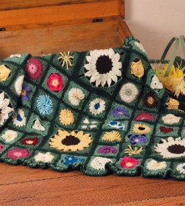 Flowers-Crocheted-Afghan-270x300