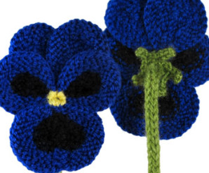 Knit Flowers for Spring – 24 free patterns