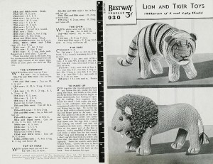 2006ac6478_leo_the_lion_and_tim_the_tiger_pattern_for_stuffed_toys2