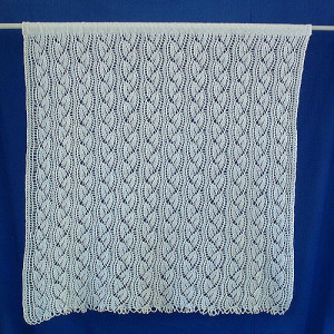 Free Knitting Patterns For Lace Curtains : More Curtains and Valances to Knit   11 free patterns   Grandmothers Pat...
