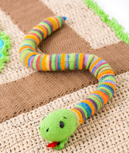 Jungle Animals to Knit   Snakes   20 free patterns   Grandmothers Patter...