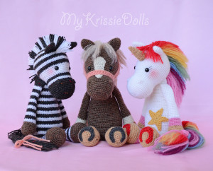 Knitting Patterns Jungle Animals : Jungle Animals to Knit and Crochet   Zebras   20 free patterns   Grandmother&...