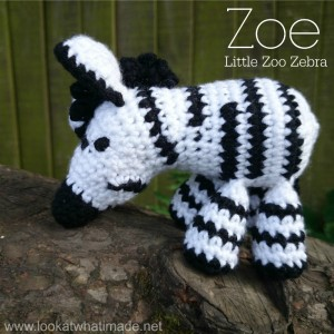Jungle Animals to Knit and Crochet - Zebras - 20 free ...