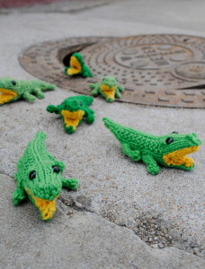 Knitting Patterns Jungle Animals : Jungle Animals to Knit   Alligators, Crocodiles and Lizards   7 free patterns...