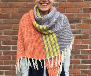 Patchwork and Stripes – Shawls to Knit using leftover yarn – 19 free patterns