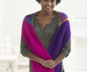Patchwork and Stripes –  Shawls to Crochet using leftover yarn – 17 free patterns