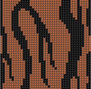 tigerstripesVstitch