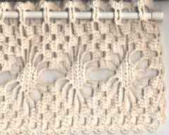 Free Crochet Patterns For Curtains And Valances : More Curtains and Valances to Crochet ? 14 free patterns ...
