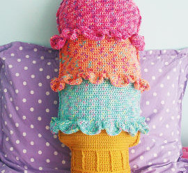 More Crochet with an Ice Cream Theme – 9 free patterns
