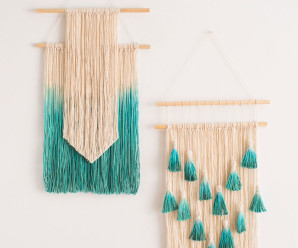 Something Different – Yarn Wall Art – 22 free project ideas