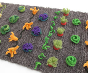 Garden Theme Knits – 11 free patterns