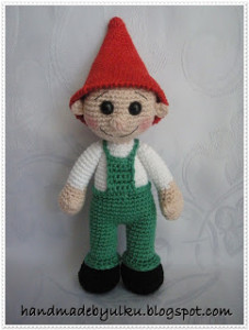 Free Amigurumi Gnome Pattern : Crochet Garden Gnomes! 13 free patterns Grandmothers ...