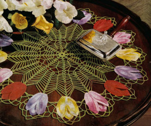 Lovely Flower Doilies to Crochet – 24 free patterns