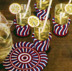 Vintage Glass Jackets and Luncheon Sets to Crochet – 26 free patterns