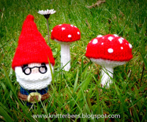Knit Garden Gnomes! – 11 free patterns