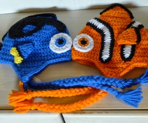 Crochet Clown Fish and Blue Tang (Nemo and Dory) – 15 free patterns